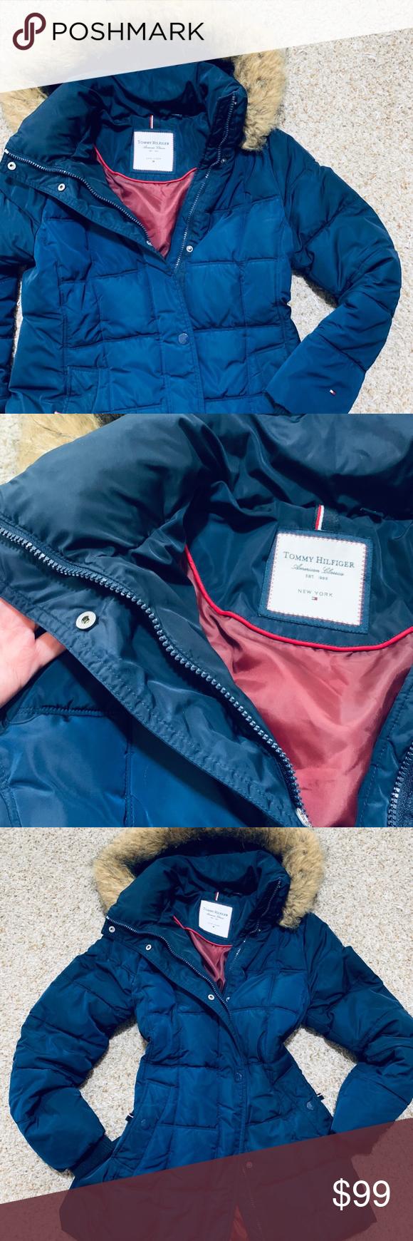 Tommy Hilfiger Winter Women S Jacket Winter Jackets Women Tommy Hilfiger Jackets For Women [ 1740 x 580 Pixel ]