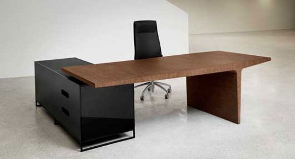 Strong And Masculine Office Furniture Level By Gabriel Teixido