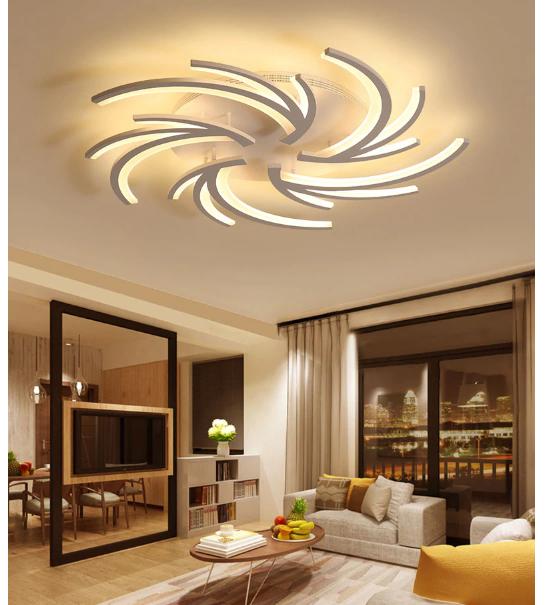 Modern Ceiling Light Fixture In 2020 Ceiling Design Living Room