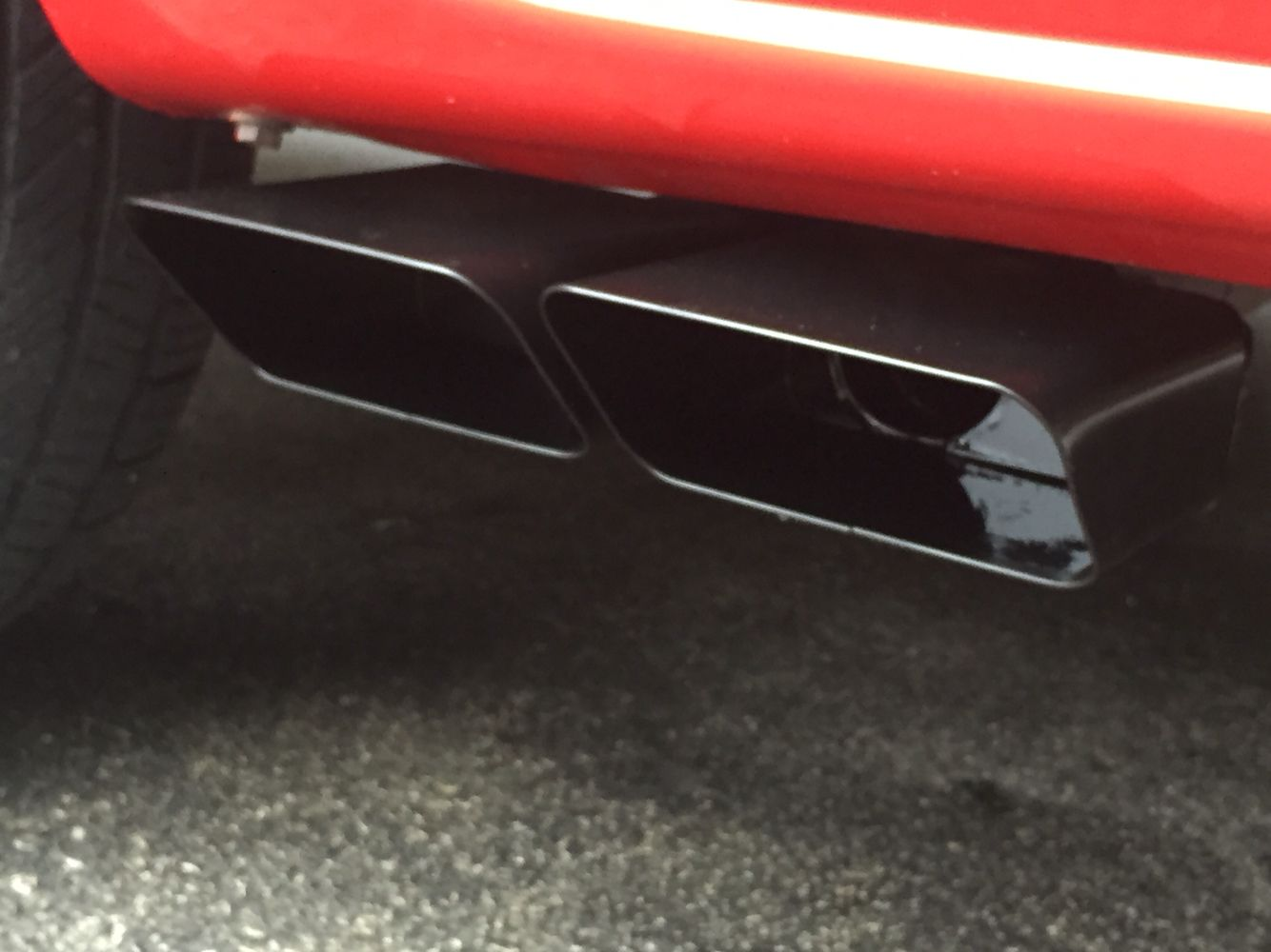 my gibson exhaust tips were losing the