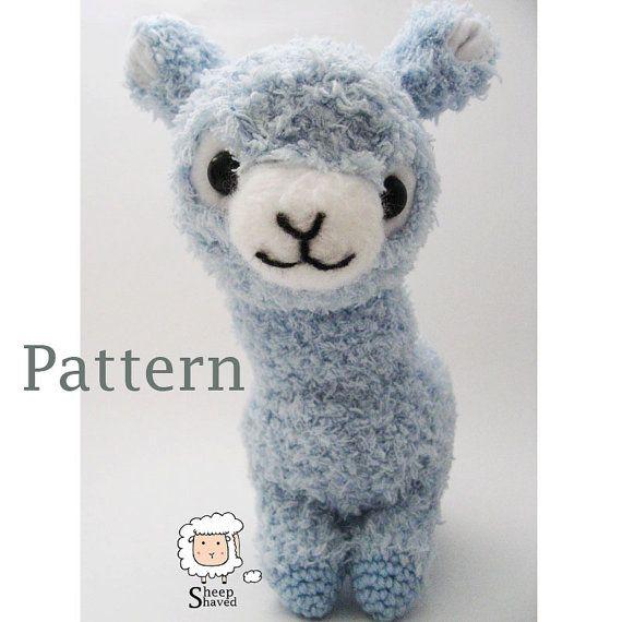 Crochet Alpaca Amigurumi Pattern (PDF format) | Cosas creativas ...