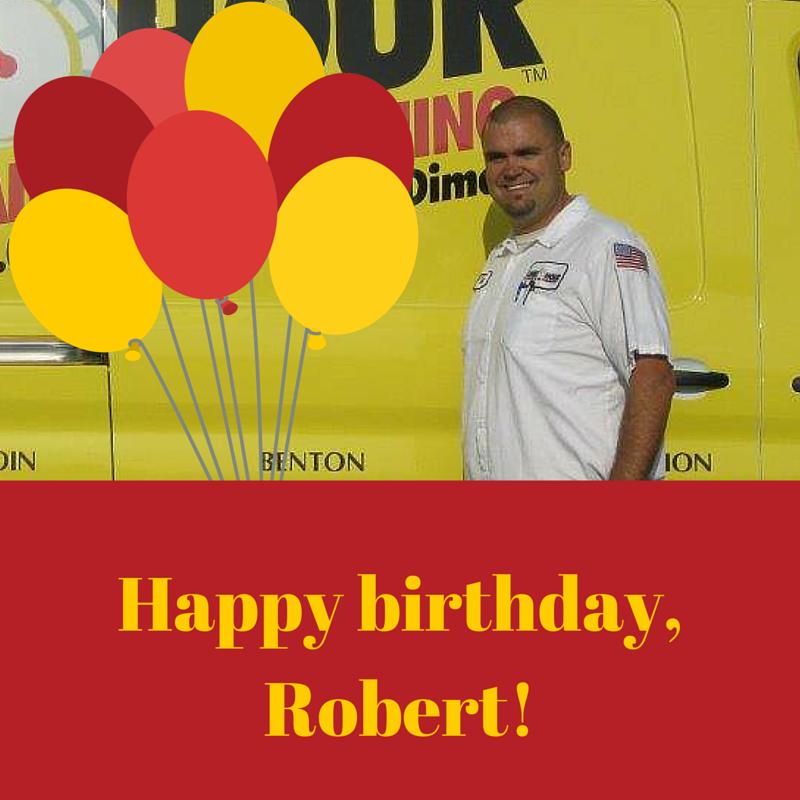 Happy birthday, Robert Petro! Pass One Hour Heating
