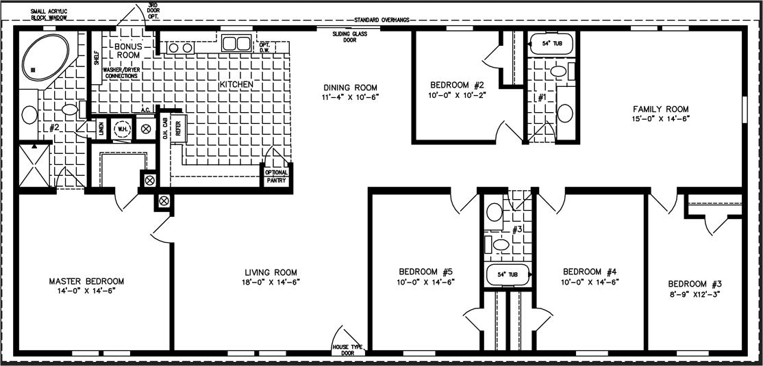 4 Bedroom Modular Home Prices In 2020 Modular Home Plans Mobile Home Floor Plans Barndominium Floor Plans