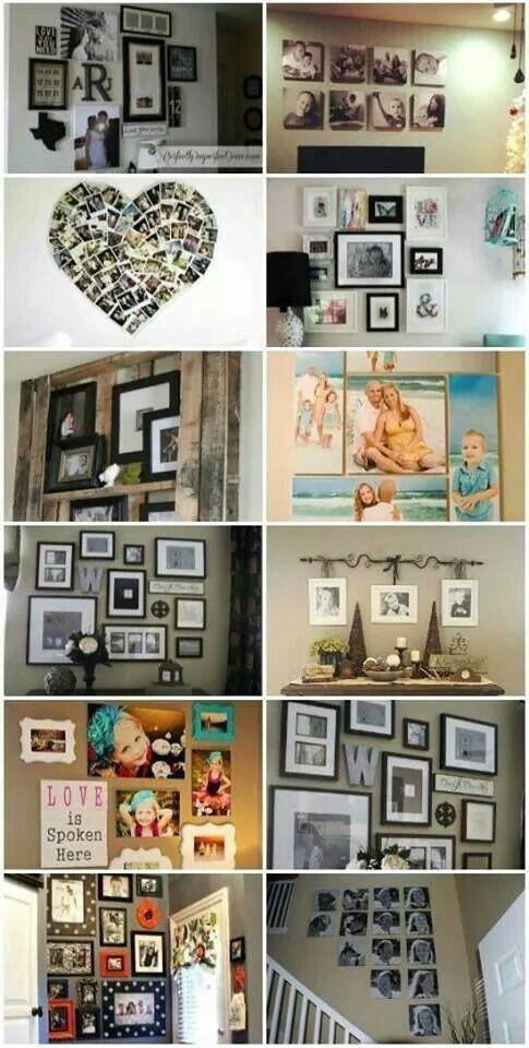 Fotos familiares DECORACIÓN HOGAR Pinterest Familiar, Murales