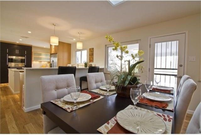 Transitional Dining Room By Design Platform