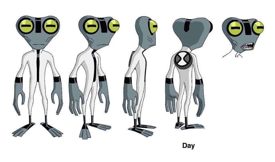 Concepto Artes de Ben 10 por Dave Johnson, Ben 10 Concept Art por ...