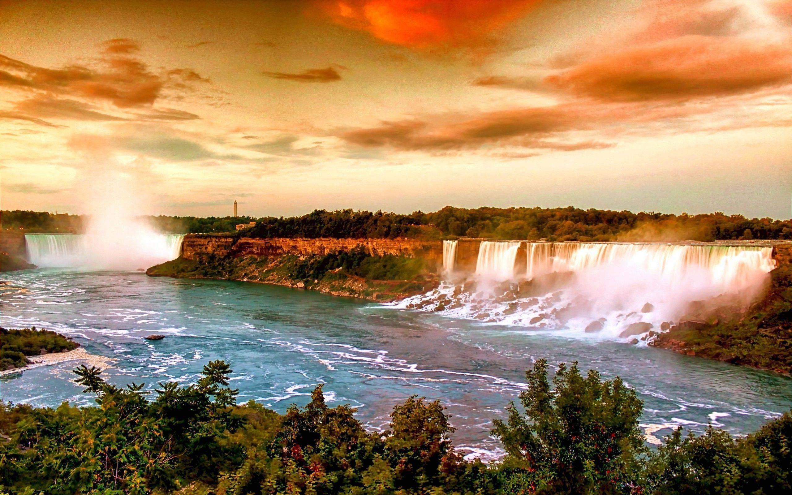 Niagara Falls Canada Beautiful Nature Wallpaper Beautiful