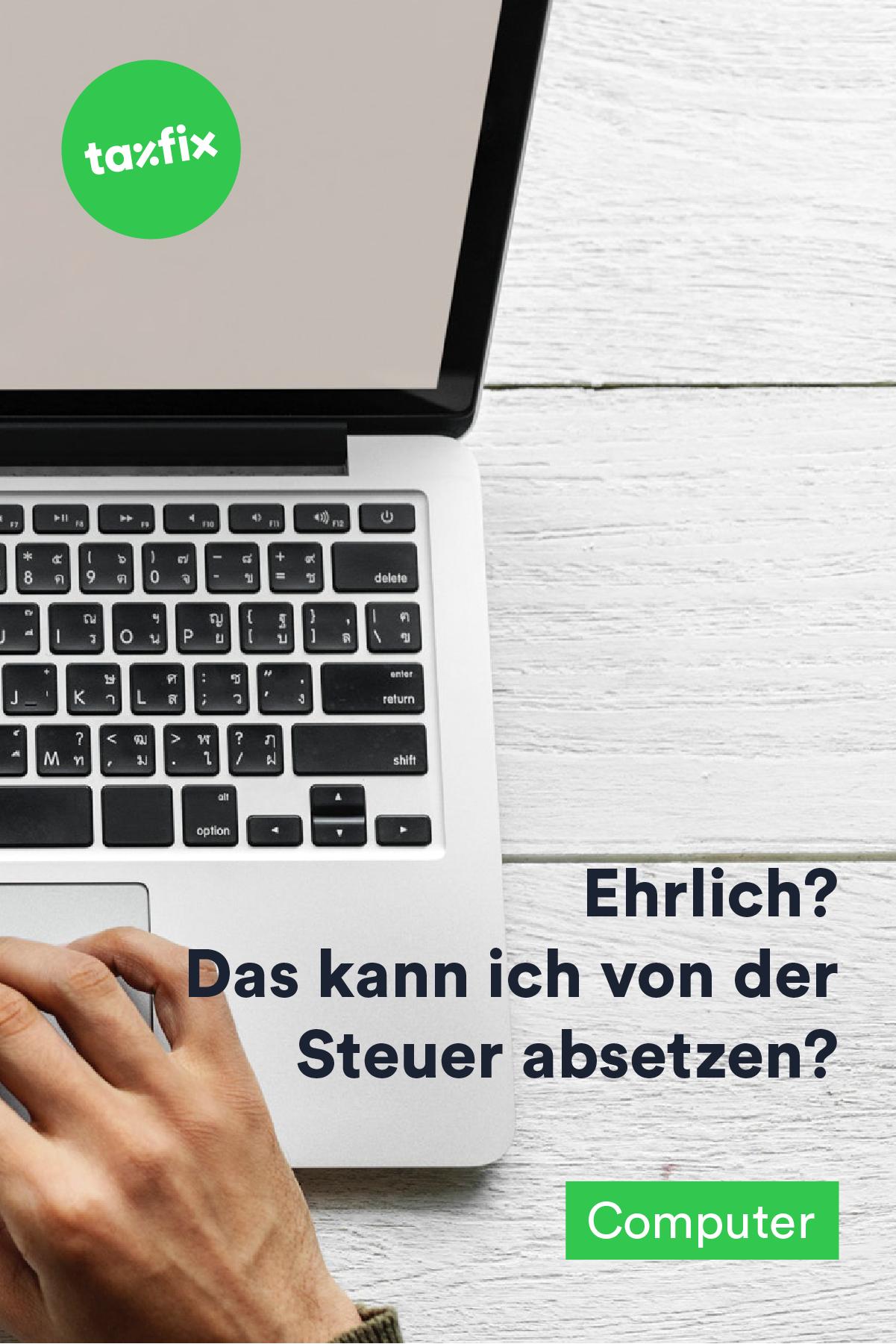 laptop für fortbildung von steuer absetzen