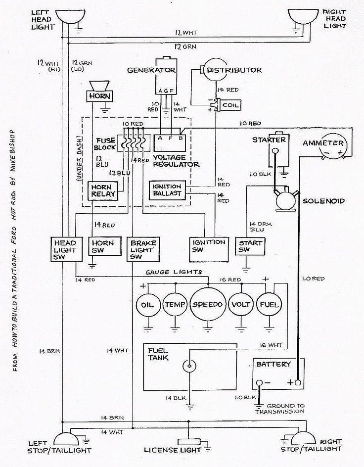 1961 Ford F250 Wiring Diagram
