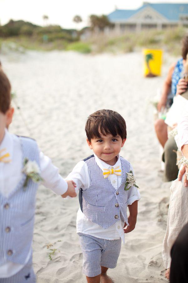 South Carolina Beach Wedding Wedding Wedding Ring Bearer Ring