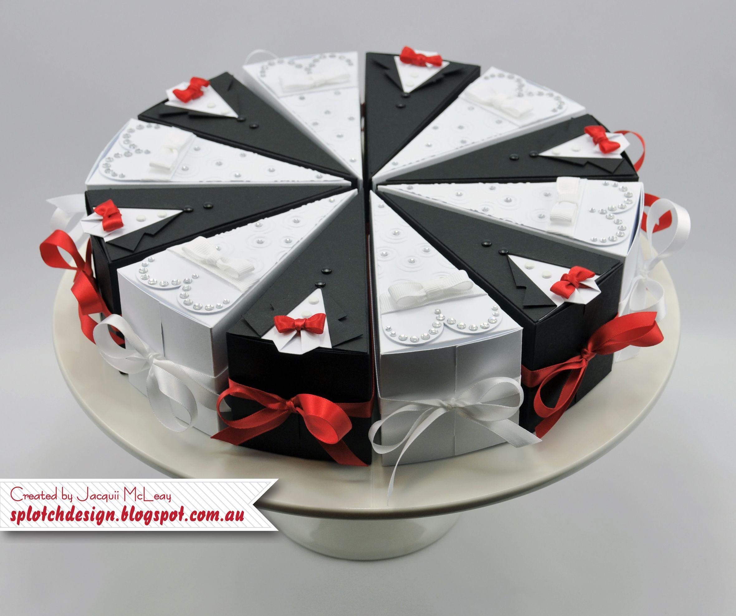 splotch design jacquii mcleay stampin up for wedding cake
