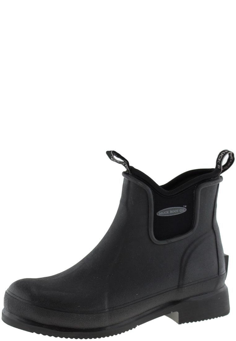 Wear Boots Black Muck Toe RubberTip Ankle qLzGMpjSUV