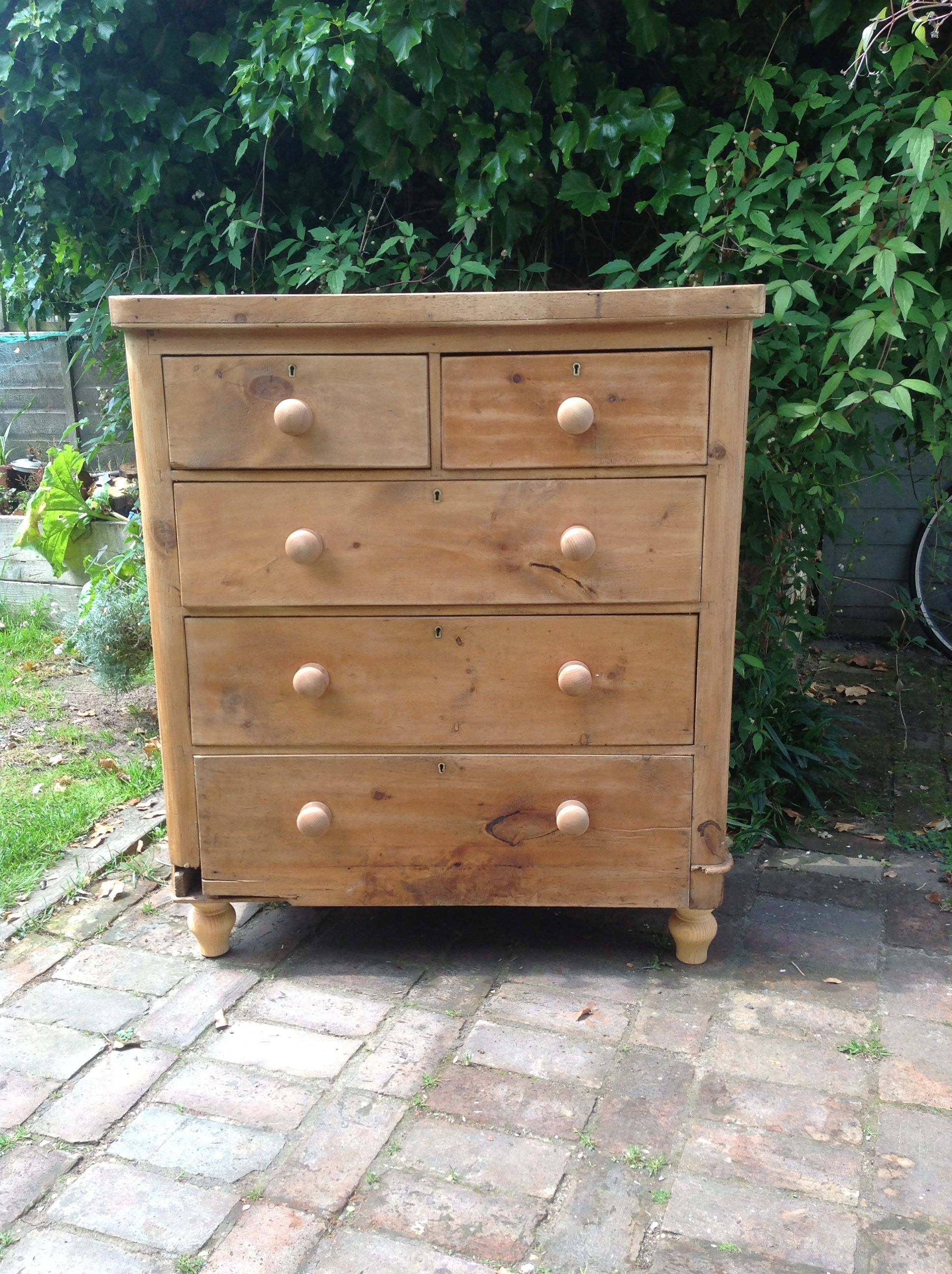 reputable site d852f 56a05 Antique pine chest of drawers by VRevival on Etsy | Vintage ...