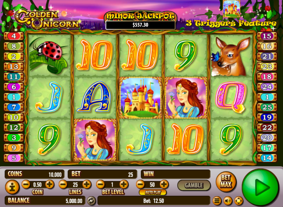 Play Free Slot Unicorn
