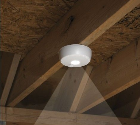 Delicieux Mr Beams™ Wireless Motion Sensor LED Ceiling Light MB980  Shed Lighting