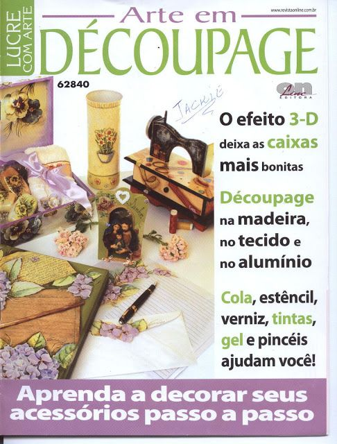 decoupage - ALEGRIA ARTESANAL - Álbumes web de Picasa