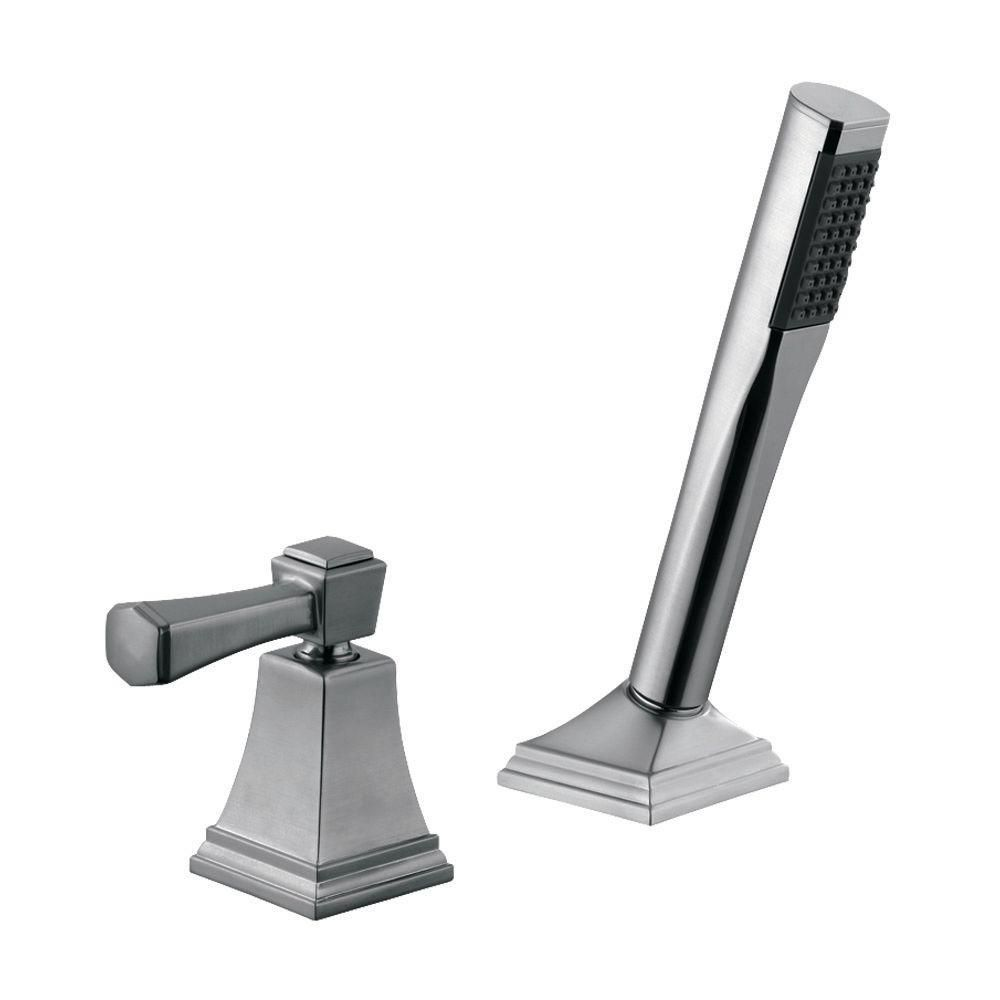 Design House Torino 1 Handle Roman Tub Pull Out Sprayer Kit In