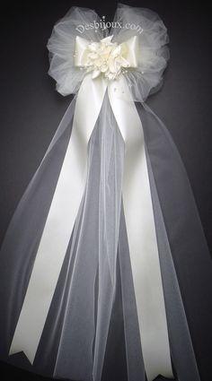 Wedding+Pew+Bows+Church+Decorations | wedding pew bows pew markers ...