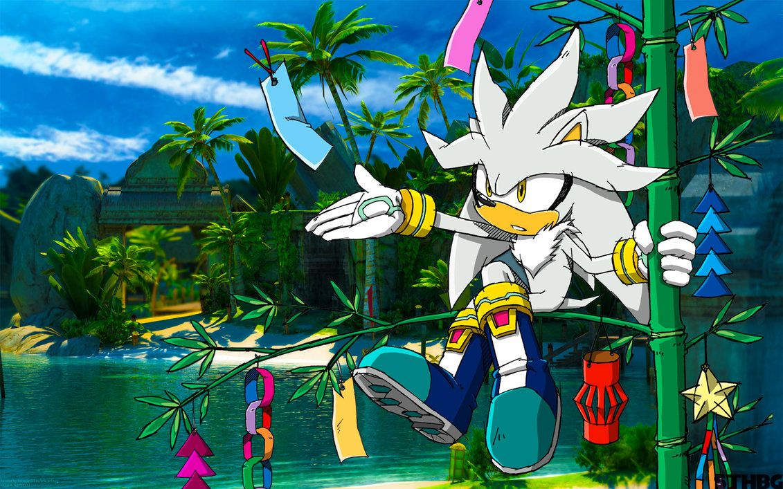 Silver The Hedgehog Wallpaper Silver The Hedgehog Wallpaper Silver The Hedgehog Sonic Adventure