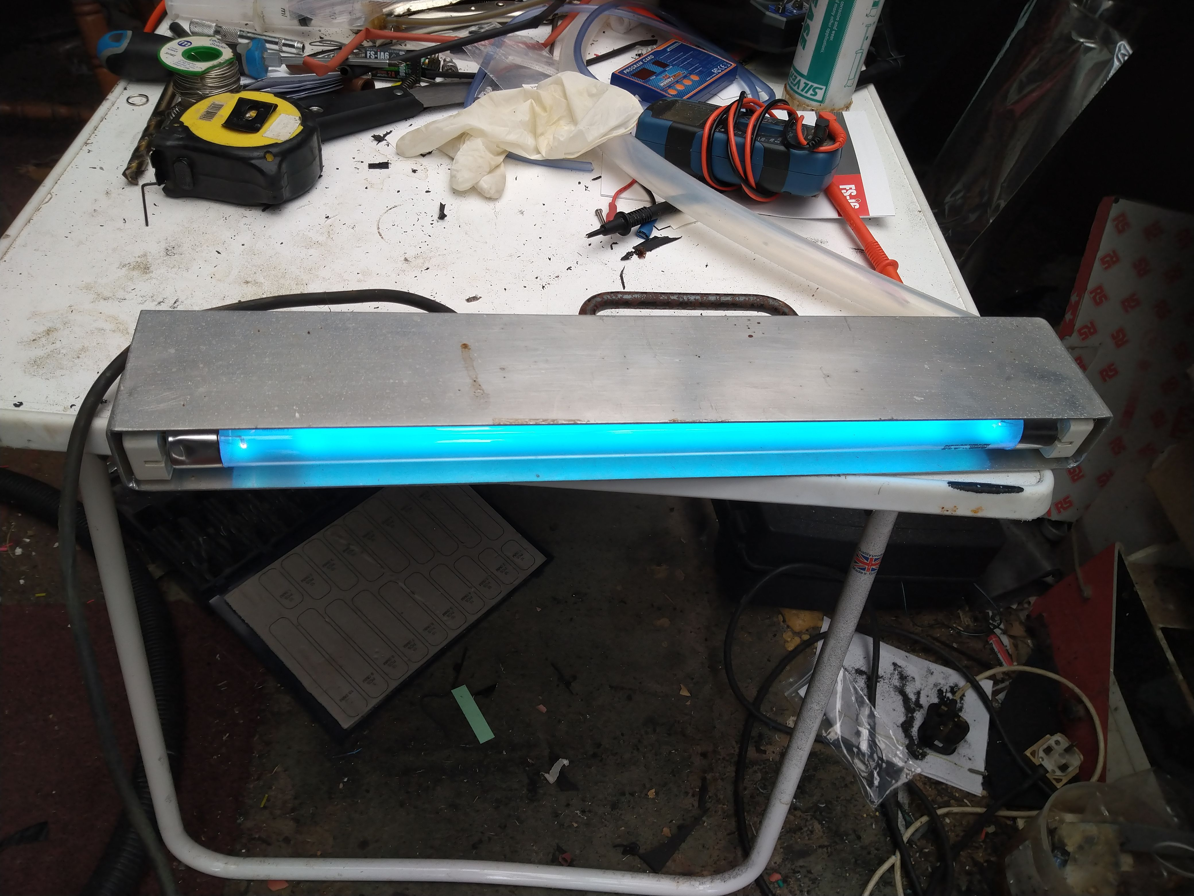 Hand Held UVC Disinfector Somthing i made in the 1980`s to