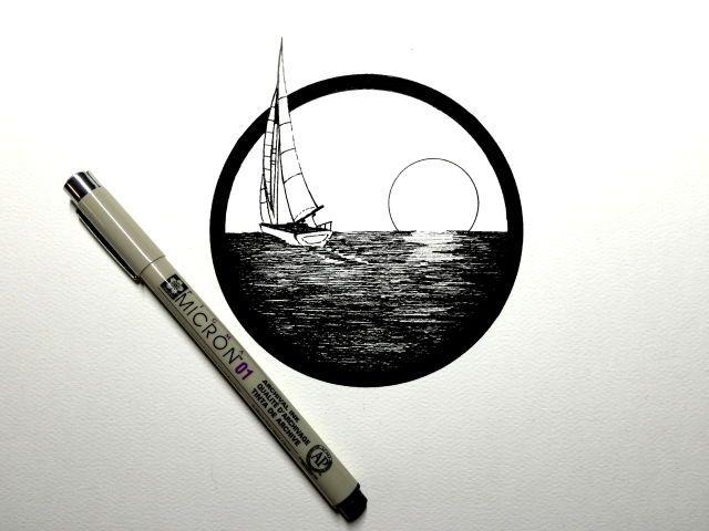 This sailboat