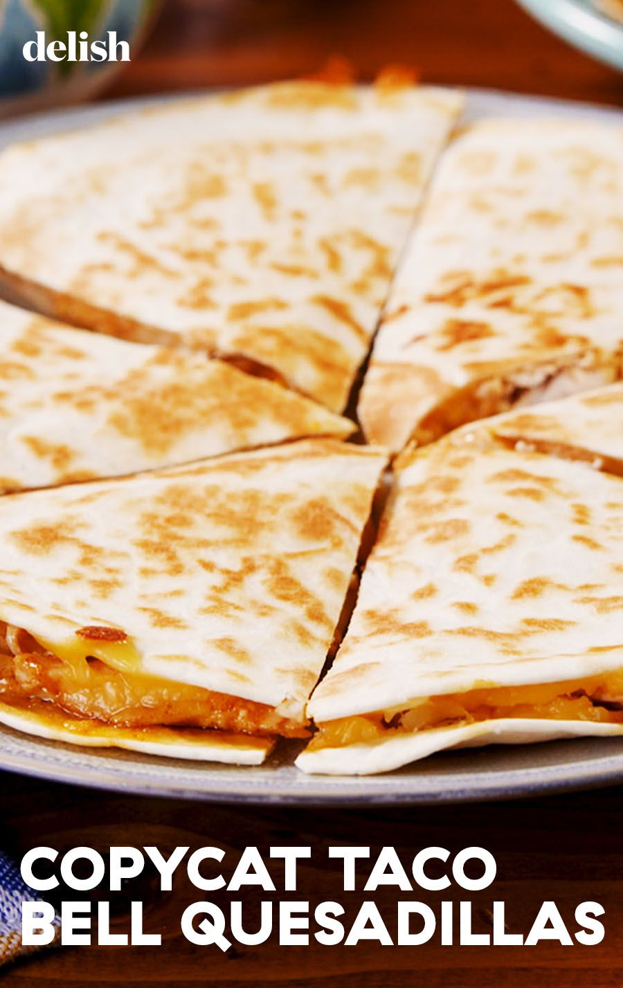 Copycat Taco Bell Quesadilla Recipe Mexican Food Recipes Food
