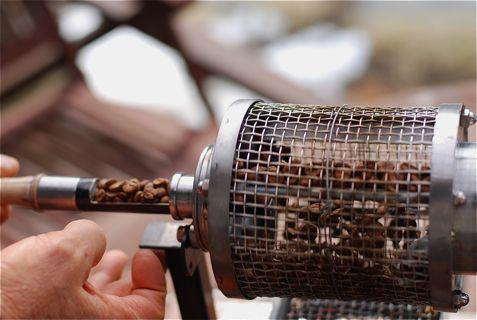 コーヒー 焙煎 網