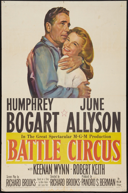 battle circus mgm 1953 one sheet 27quot x 41quot war