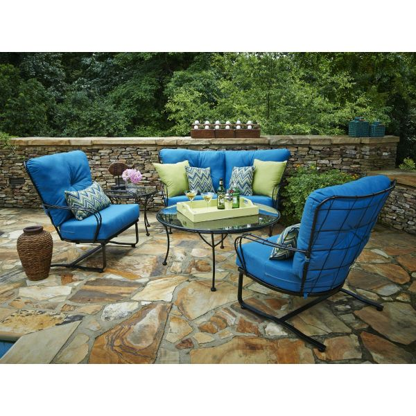 Heritage Deep Seating Iron Iron Patio Furniture Wrought Iron