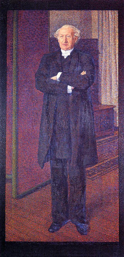 Portrait of Michel van Mos, 1892  Theo van Rysselberghe