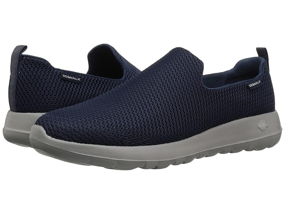 Skechers Performance Go Walk Max Navy Gray Men S Slip On Shoes