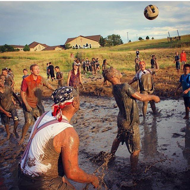 Mud Pit Volleyball With Images Volleyball Life Size Games Youth Ministry