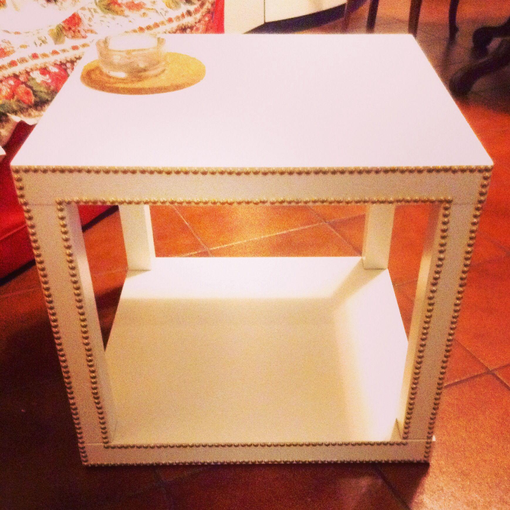 table d 39 appoint ikea lack customiser pour un int rieur personnalis ikea hack diy deco. Black Bedroom Furniture Sets. Home Design Ideas