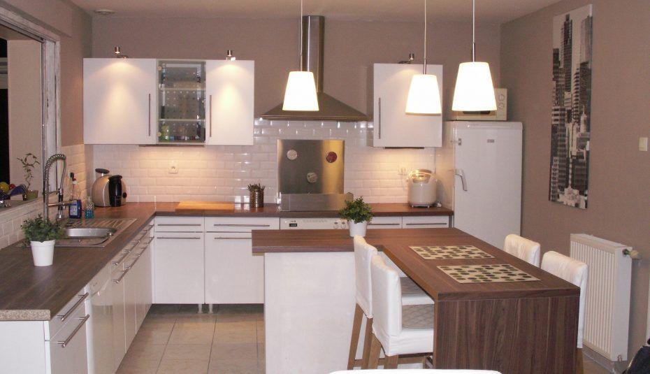idees amenagement cuisine ouverte petite longueur studio conception ...