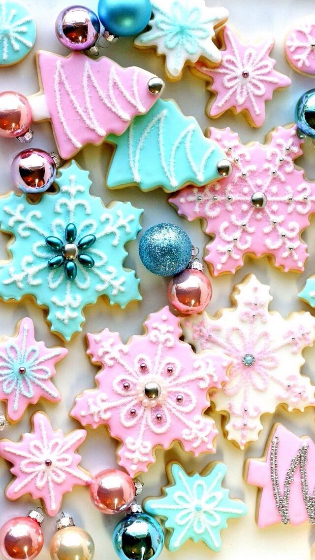Christmas Cookies Iphone Wallpaper In 2019 Christmas Phone