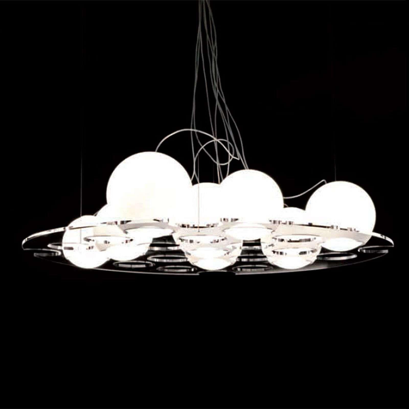 Comment Suspendre Un Plateau Au Plafond oluce plateau -suspension de designer ronde | lumière de