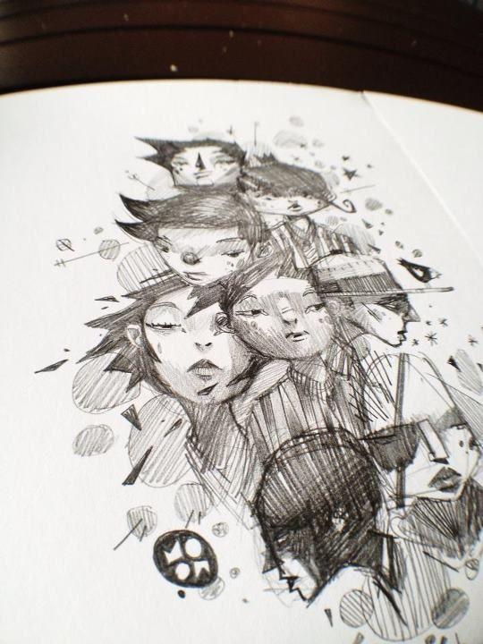 darksideof:  Sunday sketches