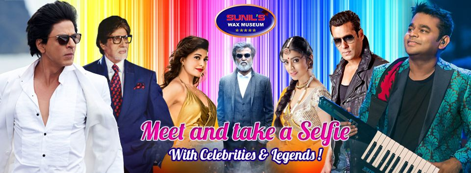 Meet The Famous Life Like Celebrities At Sunil S Wax Museum
