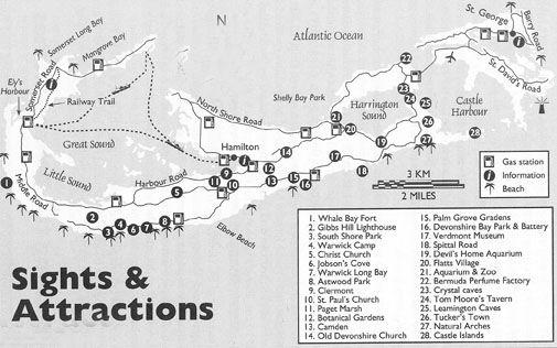 Map Of Bermuda Beaches printable map of bermuda | Bermuda Beaches Map | Bermuda in 2019