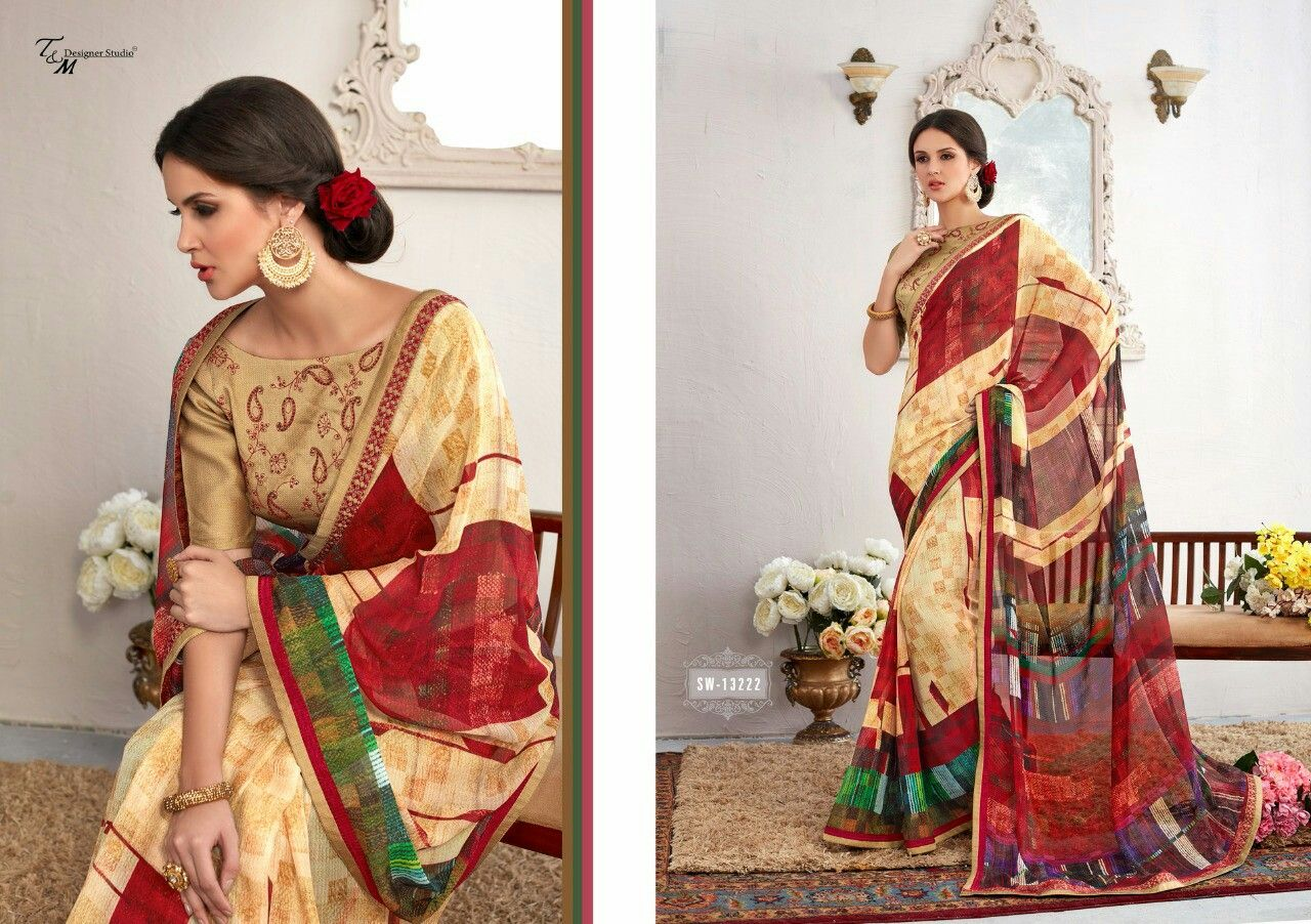 Pin by prakash sarees on casual designer sarees pinterest saree