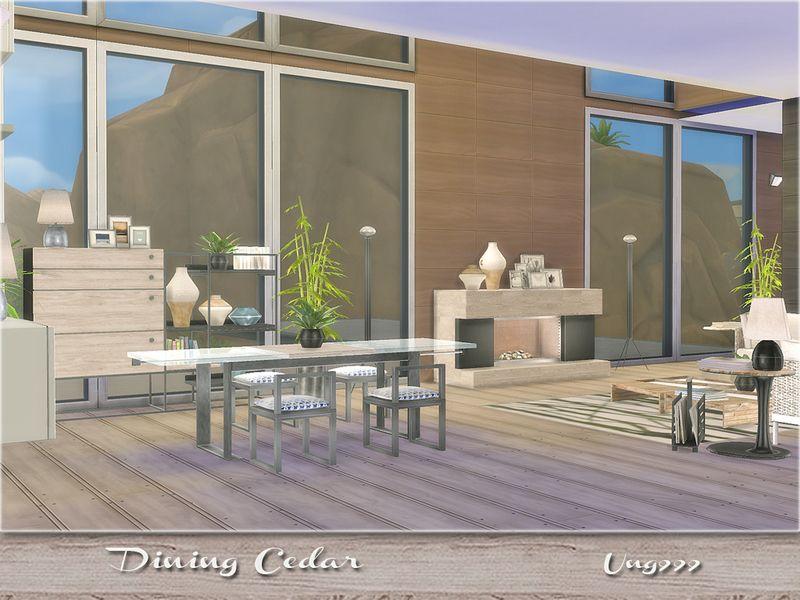 Ung999 S Black White Living: Ung999's Dining Cedar