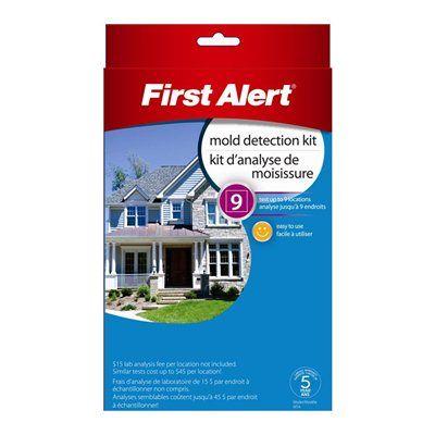 First Alert Smoke Carbon Monoxide Detector Mta Mold Test Kit Carbon Monoxide Detector Molding Detector