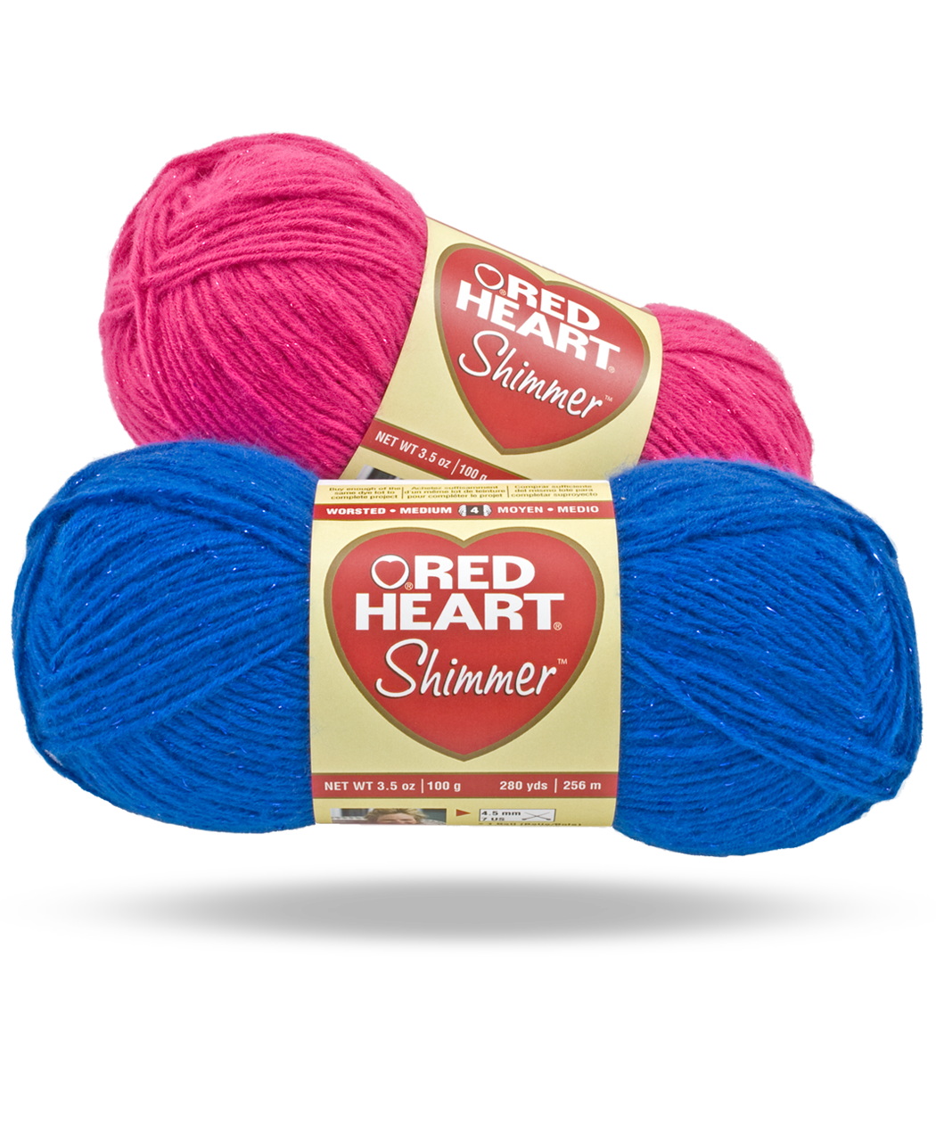 Shimmer | red heart yarn | Pinterest