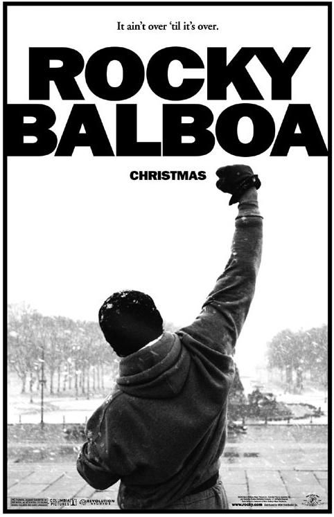 Image result for rocky balboa 2006 poster