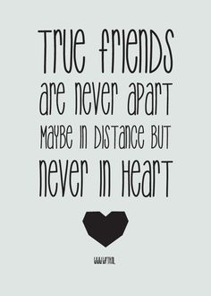 near or far friends by heart quote   Google Search | Lyric art and