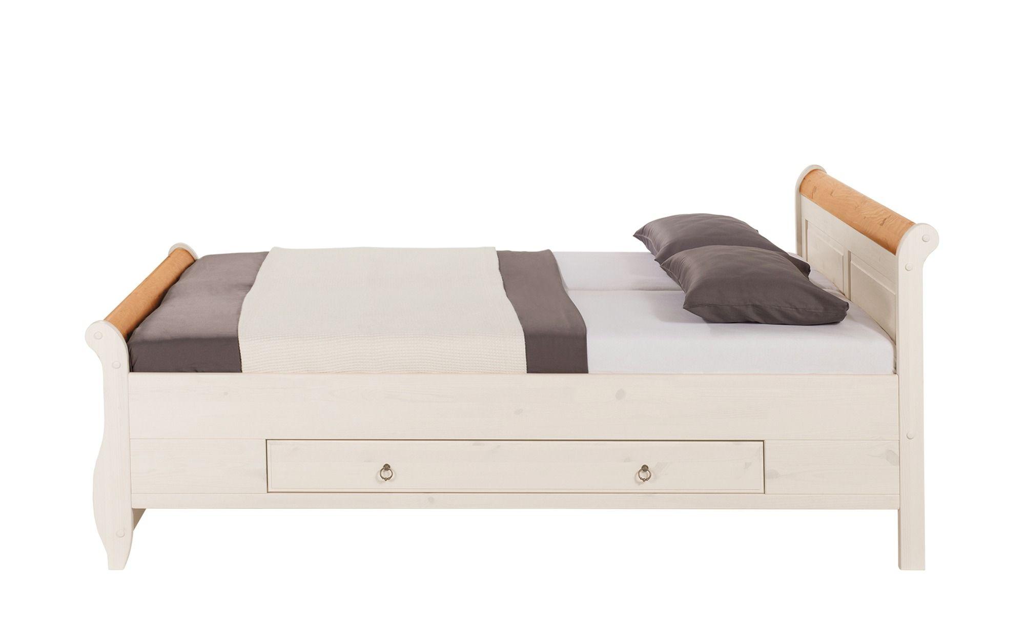 Bett Aus Der Serie Giselle In Weiss 140 X 200 Cm Home24 Bett Einzelbett Bett 140