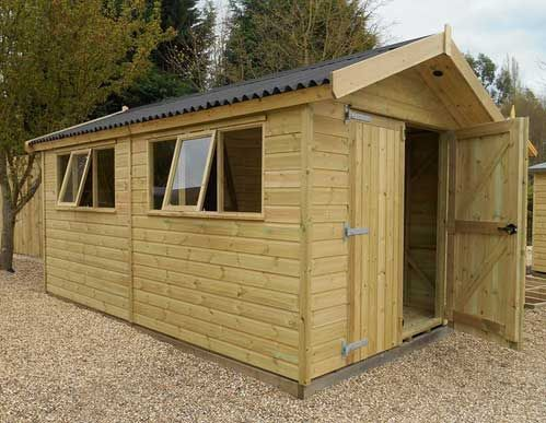 platinum supreme apex garden wooden workshops