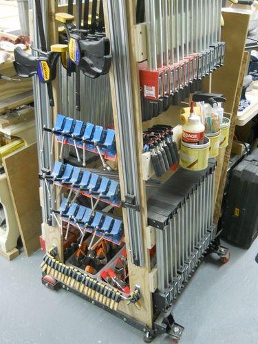 Clamp rack or mobile clamp rack - by Diggerjacks