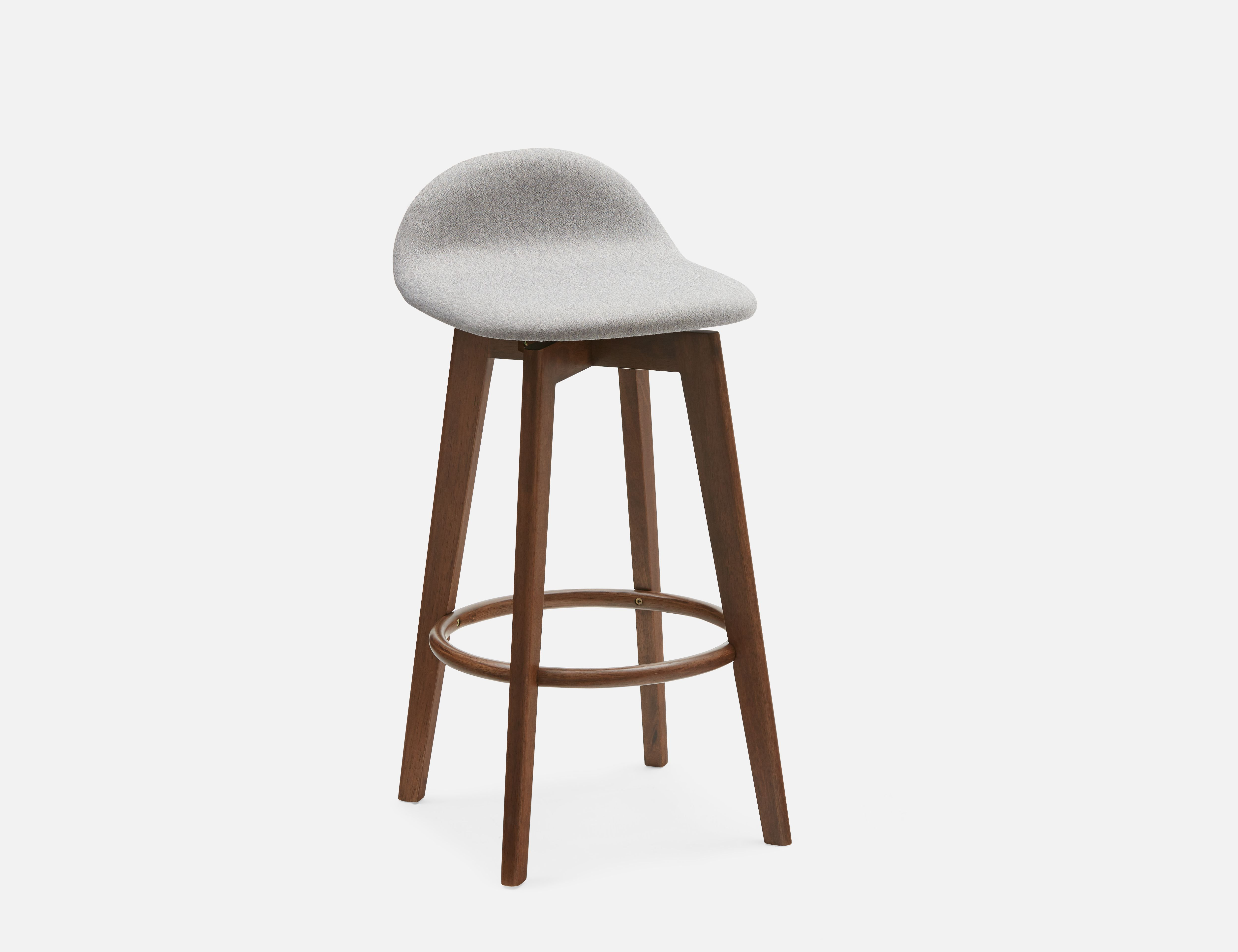 Structube Stools Staffan Grey Stool 71cm In 2019 Products Stool Kitchen Stools