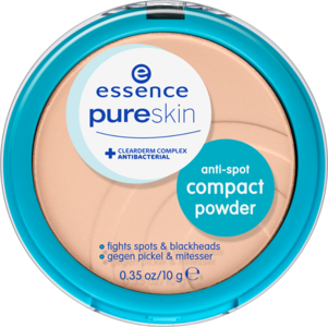 Compact powder pure skin antispot 02 sand essence
